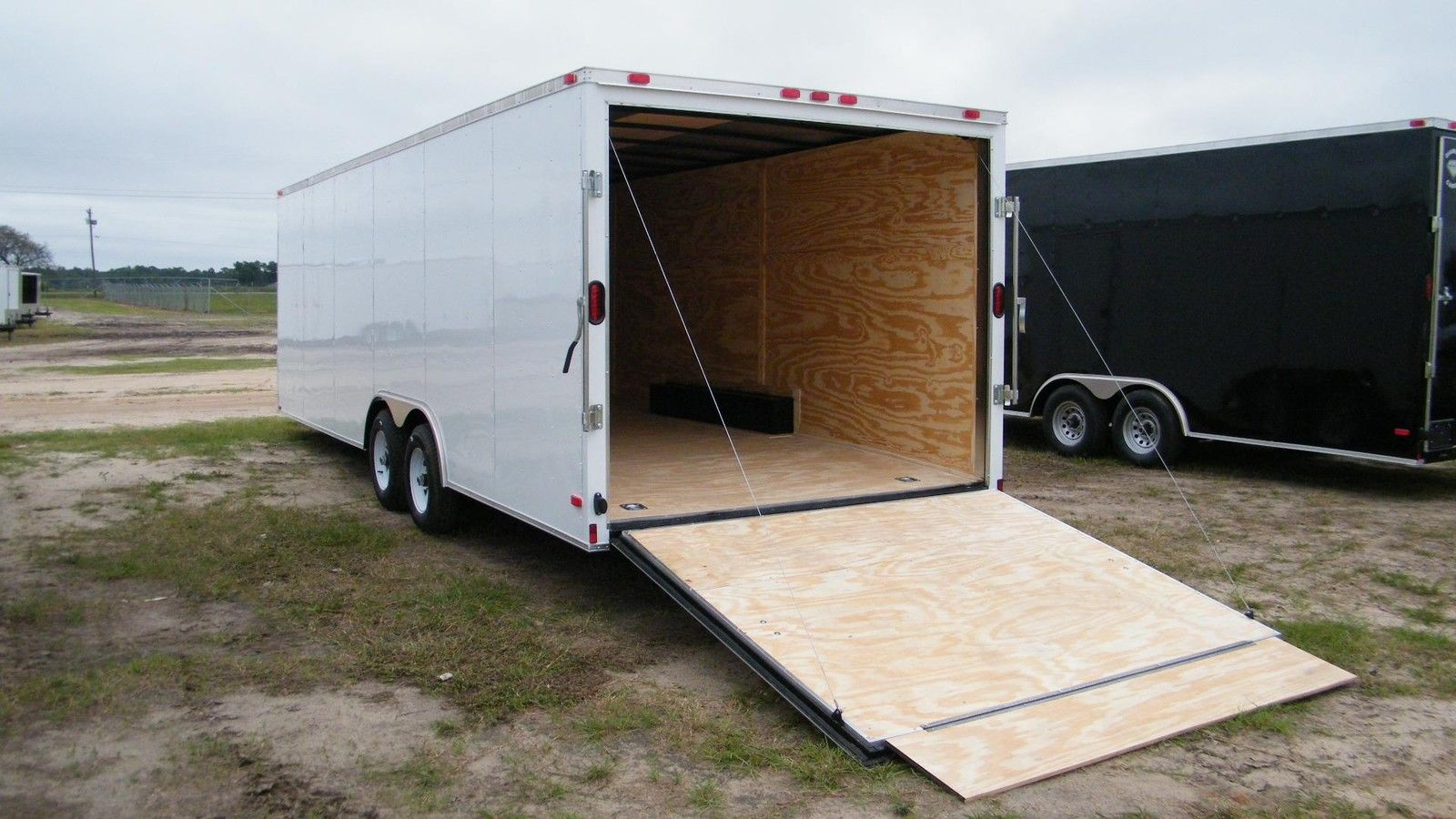 8.5x16 Enclosed Trailer Cargo V-Nose 18 Car Hauler Box 8 Motorcycle 2018 CALL !!