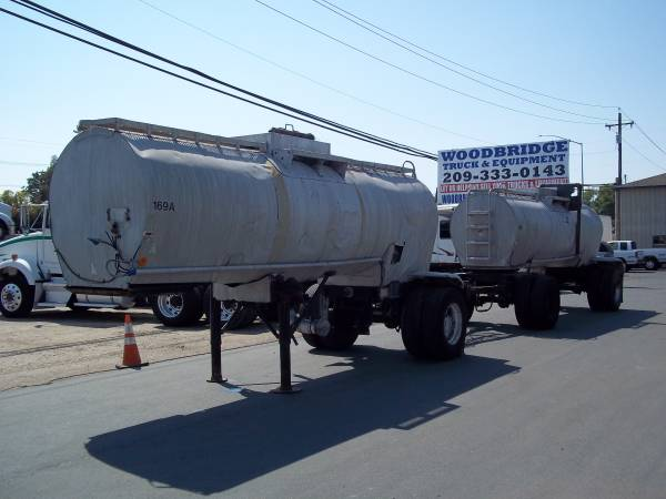 Beall Double Tank Trailers 4,180 Gallon $3000