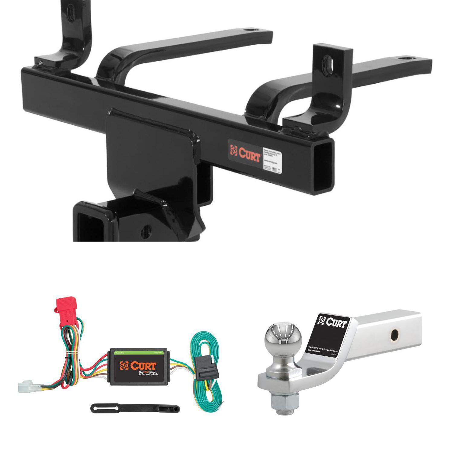 "CURT Trailer Tow Package w/ 2"" Ball Mount w/ 2"" Drop for B9 Tribeca, Tribeca"