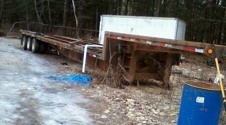 Fontaine TRI axle step drop deck Rogers talbert eager beaver flat bed lowbed