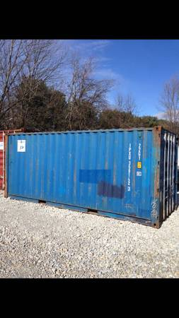 20' storage containers steel shipping containers (South Indy) $1377