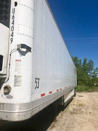 2008 53' WABASH REEFER 13500K OBO (Elk Grove Village) $13500