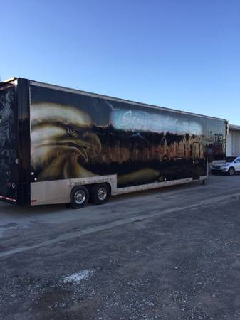 Racing semi trailer - $15000 or best offer (North Little Rock) $15000