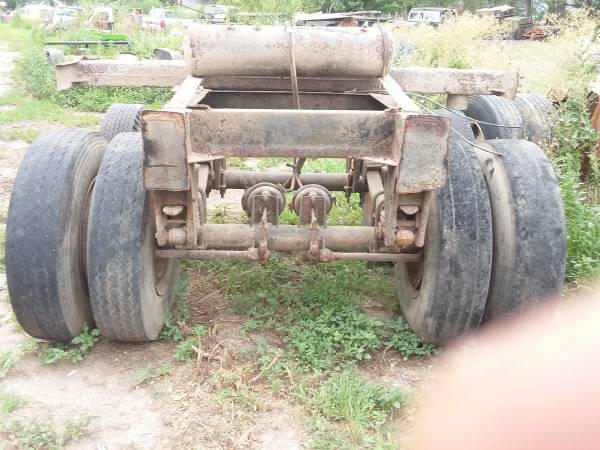 Semi Trailer Tandem Axles with Frame $1000