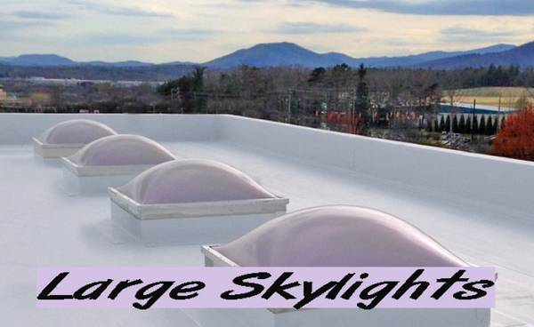 Skylights | Over Size | Carlisle - Prismatic | SAVE 50-75% OFF NEW (repurposedMATERIALS)