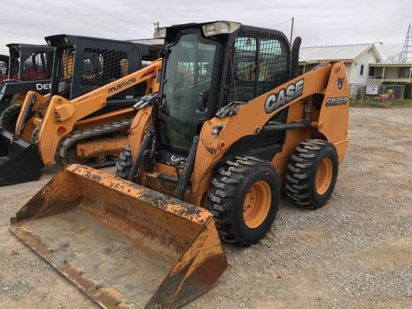 2012 Case SR250 Skid Steer HIGH FLOW Cab with AC Heat Radio 1000 hours (Springtown) $32500