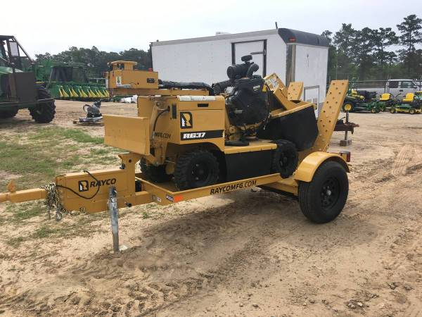 2018 Rayco RG37 with LOW HOURS AND TRAILER (Call Toby 229-221-4493) $19900