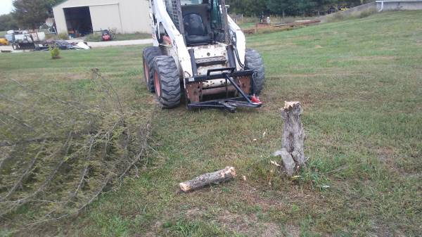 New Easy Man Tree shear for skid steer or tractor Only have 4 (Drexel) $900