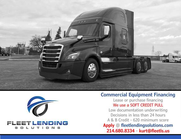 Truck, Trailer, AG & Construction Equipment Financing (Provo)