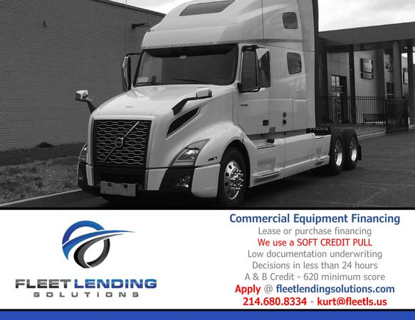 Truck, Trailer, AG & Construction Equipment Financing (Wichita)