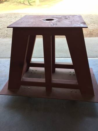 Heavy Equipment Stand/Mover (Treynor) $750