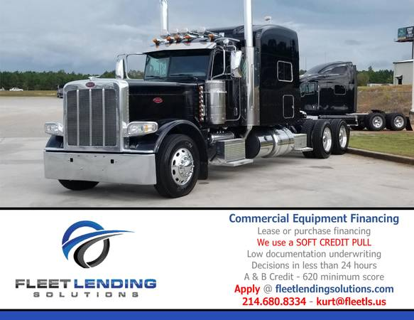 Truck, Trailer, AG & Construction Equipment Financing (Lake Charles)