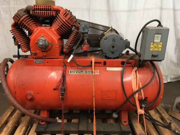 Well maintained DeVilbiss Air Compressor $700