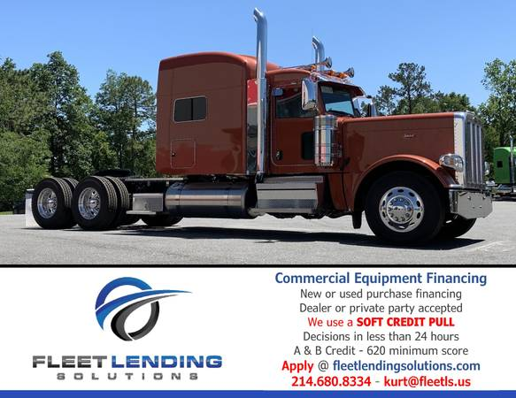 Truck, Trailer, AG & Construction Equipment Financing (Fort Smith)